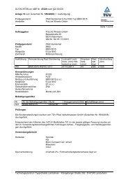 GUTACHTEN zur ABE Nr. 47229 nach §22 StVZO Anlage 10 zum ...
