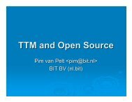 TTM and Open Source