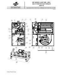 MULTI-POSITION GAS FURNACE (Style H) - UPGNet