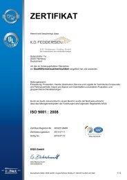 ISO 9001 : 2008 - AF-COLOR