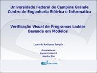 Verificação Visual de Programas Ladder Baseada em Modelos ...