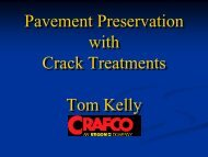 Crack Treatment - The National Center for Pavement Preservation