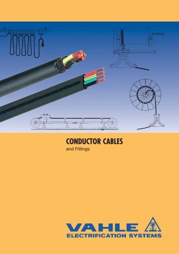 CONDUCTOR CABLES - VAHLE, Inc