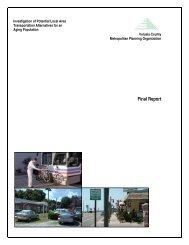 Investigation of Potential Local Area Transportation Alternatives