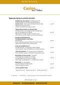 WIRTSHAUS Restaurant | Veranstaltungssaal | Gartenwirtschaft - Seite 4