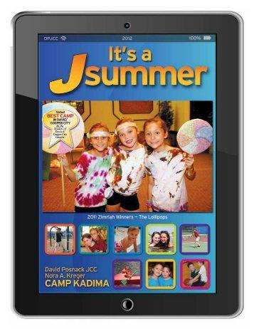 Camp Brochure - David Posnack Jewish Community Center