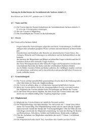 Satzung - Kulturforum der Sozialdemokratie Sachsen-Anhalt.eV