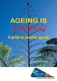 LIVING - Age Concern New Zealand