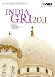 INDIA gRI 2011 - Global Real Estate Institute