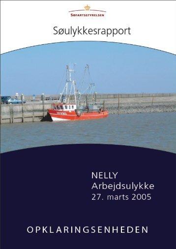 NELLY - Arbejdsulykke den 27. marts 2005 - Søfartsstyrelsen