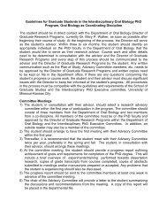 Program Guidelines - UMKC School of Dentistry - University of ...