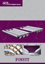 download Forest Skylight System brochure - Forest Group