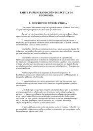 Ejemplo Economía 4 - Ecobachillerato
