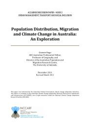 Population Distribution, Migration and Climate Change in Australia ...