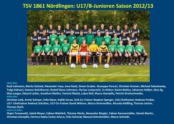 TSV 1861 Nördlingen - jfgwittelsbacherland.de