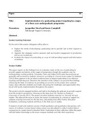 Implementation of a podcasting project targeting key stages ... - Seda