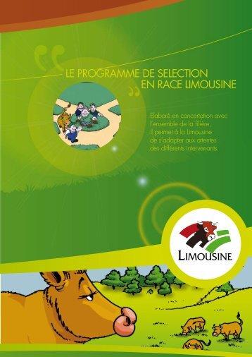 LE PROGRAMME DE SELECTION EN RACE ... - Limousine.org