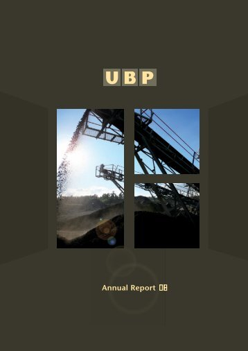 Corporate Governance Report - The United Basalt Products Ltd