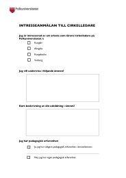 detta formulär, Intresseanmälan - Folkuniversitetet