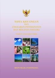 Nota Keuangan dan APBN 2012 - Direktorat Jenderal Anggaran ...
