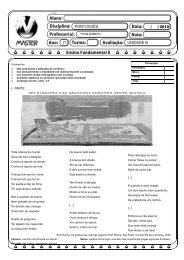 7º UNIDADE III PORTUGUÊS CIDA BISPO