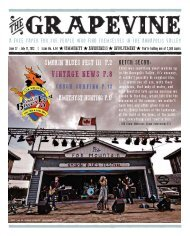 VINTAgE NEWS P.8 - The Grapevine