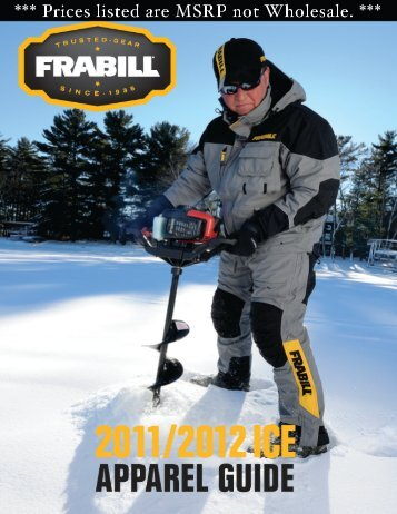 Download Frabill Apparel PDF Catalog - Merrick Tackle