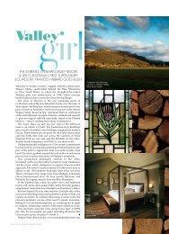Valley - Wolgan Valley Resort & Spa