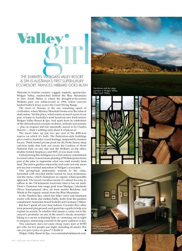 Valley - Wolgan Valley Resort & Spa