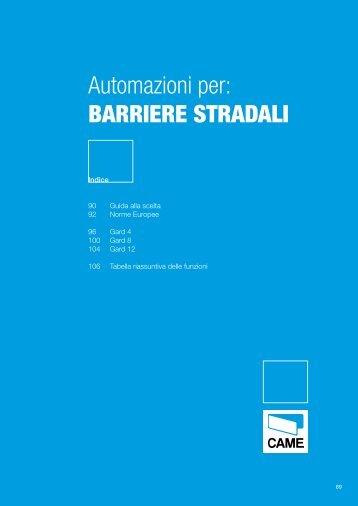 Automazioni per: BARRIERE STRADALI - Elettricoplus
