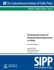 The Democratic Content of Intergovernmental Agreements in Canada