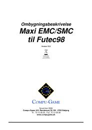 Ombygningsbeskrivelse Maxi EMC/SMC til Futec98 - Compu Game