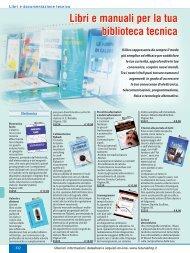 Libri e manuali per la tua biblioteca tecnica - Futura Elettronica