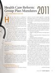 All group health plans face certain mandates under health care ... - Page 2