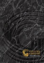 Annual Report - 2011 - Gullewa Limited
