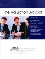 The Valuation Aavisar - Fiske & Company