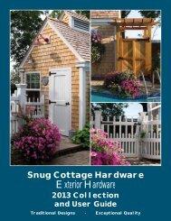 Snug Cottage Hardware - Barn Door Hardware