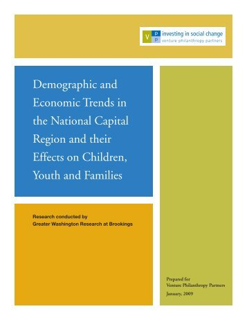 Demographic and Economic Trends in the National Capital Region ...