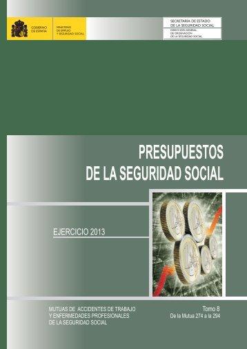Mutuas de Accidentes de Trabajo y ... - Seguridad Social