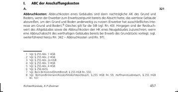 ABC der Anschaffungskosten - Bundesanzeiger Verlag