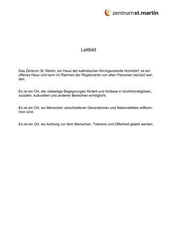 Benutzerverordnung - Pfarrei Hochdorf