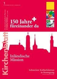Umbruch, 20.12.2012 - 150 Jahre IM - Inländische Mission