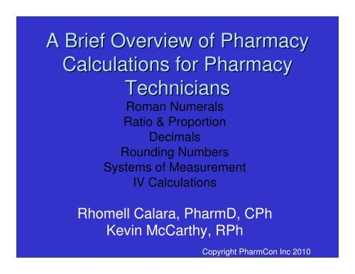 free ce hours for pharmacy technicians