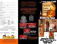 Hallowe'en Pageant - REGINA - Miss All Canadian Pageants