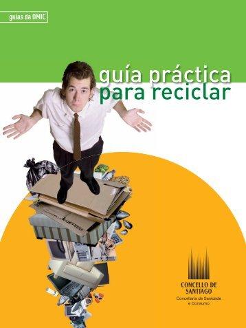 Que é a reciclaxe? - Concello de Santiago de Compostela