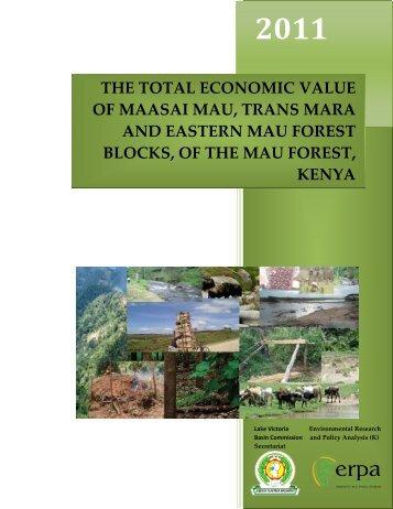 Total Economic Value of Maasai Mau, Trans Mara and Eastern Mau ...