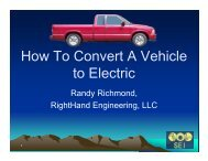 How To Convert A Vehicle to Electric - RightHand Engineering