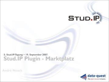 Stud.IP Plugin - Marktplatz