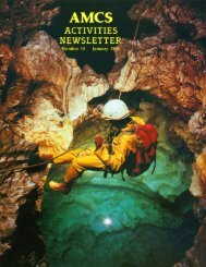 11MB PDF - Association for Mexican Cave Studies