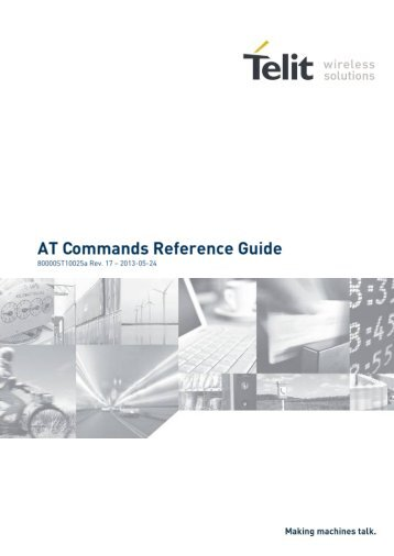 AT Commands Reference Guide - Trenz Electronic